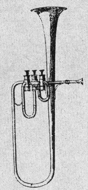 Adolphe Sax - Image: Saxtromba sopran