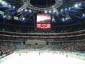 Czech Extraliga - A Czech Extraliga game in O2 Arena