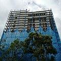 Scaffolding of Chien Cheng Building demolition engineering 20170901.jpg