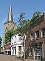 Schüttorf, kerk1 in straatzicht 2011-05-07 10.55.JPG