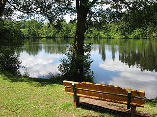 Schlüchtsee reservoir in Germany