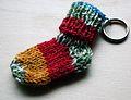 Schlüsselanhängliche Socke.JPG