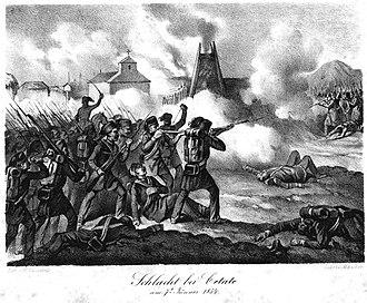 Battle of Cetate - Image: Schlacht bei Cetate