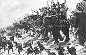 Battle of Zama - The Battle of Zama by Henri-Paul Motte, 1890