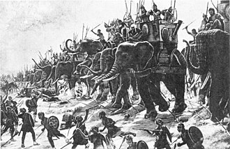 Battle of Zama - The Battle of Zama by Henri-Paul Motte, 1890.