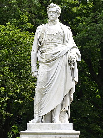 Wilhelm Malte I - Monument to Wilhelm Malte, erected in 1859 by Friedrich Drake