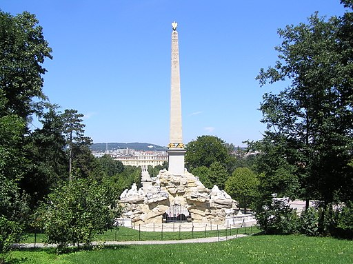 Schoenbrunn - Obelisk-Brunnen