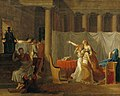 School of Jacques Louis David - The Lictors Bringing to Brutus the Bodies of his Sons, 1934.34.jpg