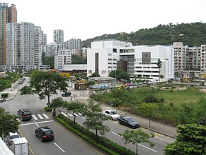 School of the Nations (Macau) - A very-wide-angle view of the school.