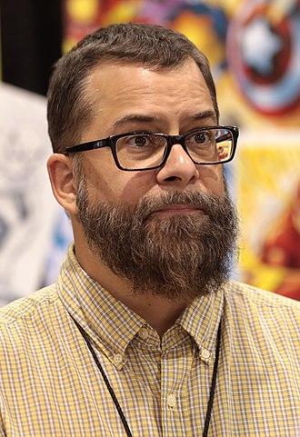 Scott Kolins - Kolins at the 2018 Phoenix Comic Fest