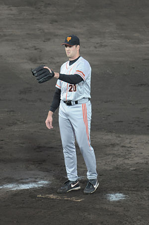 Scott Mathieson - Mathieson with the Yomiuri Giants