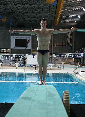 Scott Robertson (diver) - Image: Scott Robertson Diving