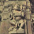 Sculpture of ganesh at Mahadev temple at Vattal (Nanded).jpg