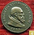 Scuola romana, medaglia di gregorio XIII, 1575, busto.JPG