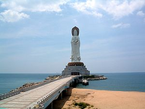 Sanya - The Guanyin Statue of Hainan