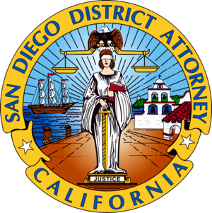 San Diego County District Attorney - Image: Seal of the San Diego District Attorney