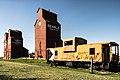 Searle Grain Company Grain Elevator Site Complex and United Grain Growers - Alberta Wheat Pool Grain Elevator Site Complex, Rowley, Alberta.jpg