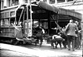 Seattle Municipal Railroad car after an accident at 6th Ave and Pike St, May 20, 1919 (SEATTLE 551).jpg