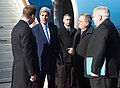 Secretary Kerry Chats With Russian Officials and U.S. Ambassador Tefft Upon His Arrival to Moscow for Meetings With Russian President Putin and Foreign Minister Lavrov (25374347894).jpg