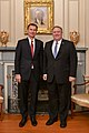 Secretary Pompeo Welcomes UK Foreign Secretary Hunt to Washington (46138228784).jpg