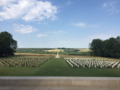 Secretary of State for Northern Ireland Karen Bradley MP represents HMG at a commemorative event at the Thiepval Memorial, laying a wreath in remembrance. (43186949082).png