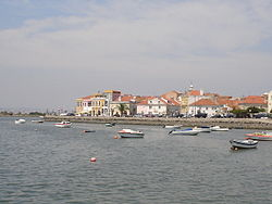 A view of the edge of the Bay of Seixal