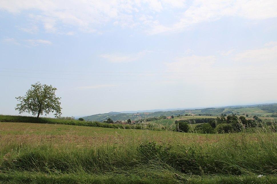 Selo Joševa - opština Valjevo - zapadna Srbija - Panorama 1