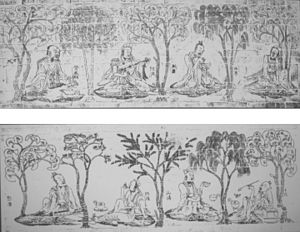 Jin dynasty (265–420) - Image: Seven Sages of the Bamboo Grove