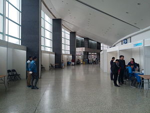 Shanghai Indoor Stadium - Inside the stadium