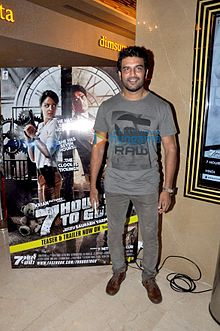 Sharad Kelkar at the premiere of '7 Hours To Go'.jpg