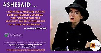 SheSaid campaign quoting Amelia Nothomb.jpg