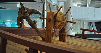 Ship for Joseon Tongsinsa, collections of National Maritime Museum, South Korea 03.JPG