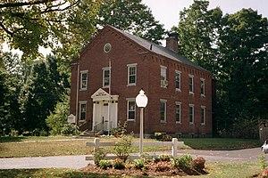 Shirley, Massachusetts - Old Shirley Municipal Building in 2008.