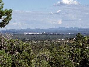 Show Low, Arizona - Image: Show Low AZ from northwest