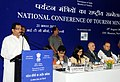 Shripad Yesso Naik addressing the National Conference of State Tourism Ministers, in New Delhi. The Union Minister for Finance, Corporate Affairs and Defence, Shri Arun Jaitley and the Secretary, Ministry of Tourism.jpg