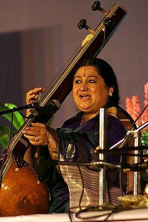Shubha Mudgal - Shubha Mudgal performing in 2007