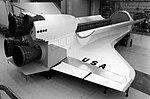 Shuttle mockup at North American Rockwell (Downey, California).jpg