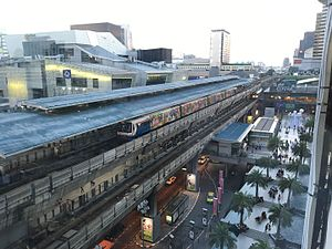Siam BTS Station, view from Siam Paragon.jpg