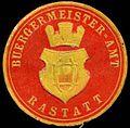 Siegelmarke Bürgermeister-Amt-Rastatt W0307401.jpg
