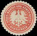 Siegelmarke Stadt-Rentei und Armen-Kasse Burtscheid W0386390.jpg