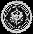 Siegelmarke Zentral - Polizeistelle Osten beim Oberbefehlshaber Ost W0238365.jpg