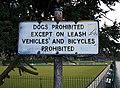Sign, Ward Park - geograph.org.uk - 1706442.jpg