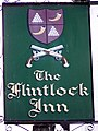 Sign for the Flinklock Inn - geograph.org.uk - 1474935.jpg