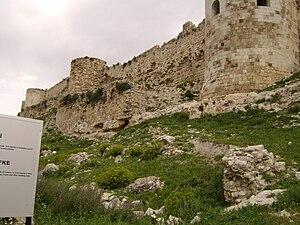 Silifke - Image: Silifke castle walls