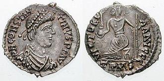Siliqua - Constantine III (usurper)