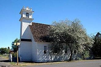 Silver Lake, Oregon - Community church in Silver Lake