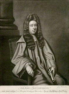 John Trenchard (politician) English politician