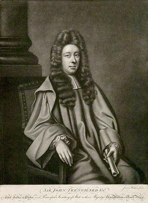 John Trenchard (politician) - Image: Sir John Trenchard