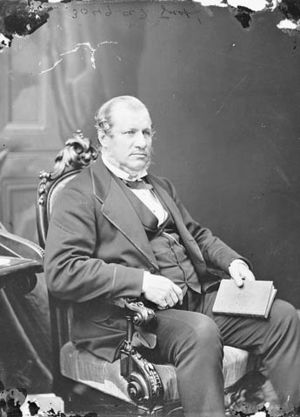 Minister of Finance (Canada) - Image: Sir Alexander Galt