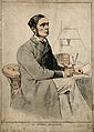 Sir Morrell Mackenzie. Coloured wood engraving by (C. H.), 1 Wellcome V0003747.jpg